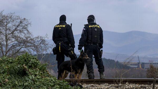 La police tchèque - Sputnik France