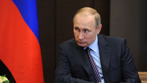 Встреча президента РФ В. Путина с премьер-министром Японии Синдзо Абэ - Sputnik France