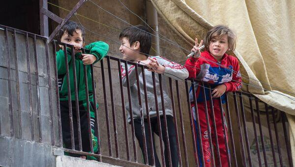 Des enfants syriens à Alep - Sputnik France