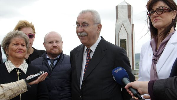 Un groupe de parlementaires italiens en visite en Crimée - Sputnik France