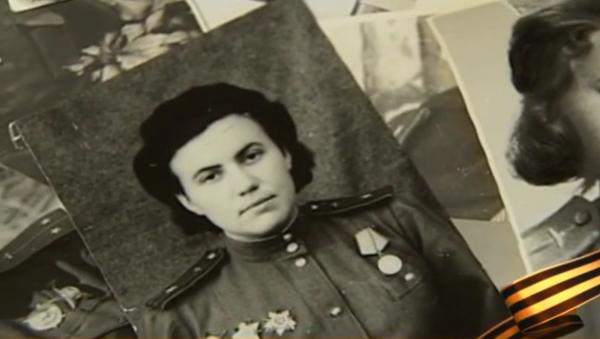 Irina Rakobolskaïa quand elle faisait partie du légendaire régiment des sorcières nocturnes - Sputnik France