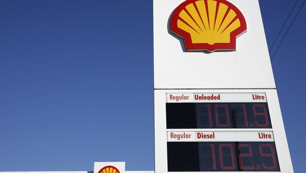 Shell logos - Sputnik France