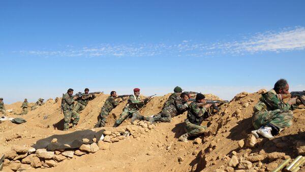 L'armée gouvernementale syrienne aux abords de Raqqa - Sputnik France