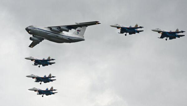 L'avion de transport militaire Illiouchine Il-76 - Sputnik France