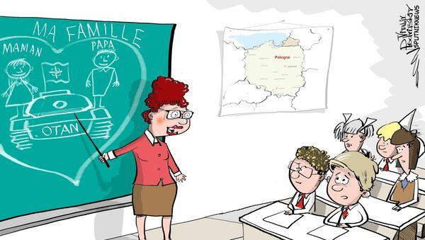 Les Polonais apprendront à aimer l'Otan dès l'école - Sputnik France