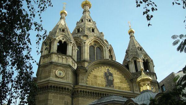 La cathédrale Saint-Alexandre-Nevsky à Paris relevant de l'exarchat du Patriarcat de Constantinople - Sputnik France
