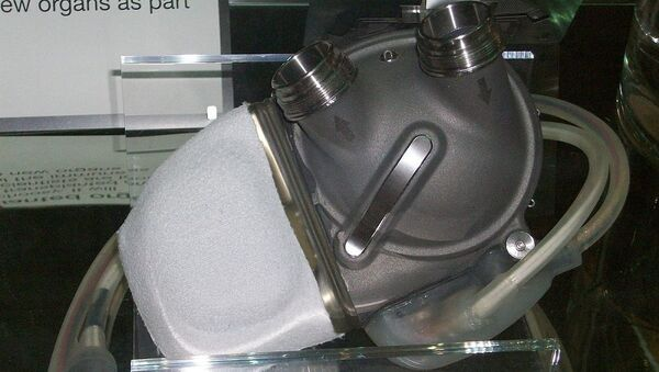 An artificial heart displayed at the London Science Museum - Sputnik France