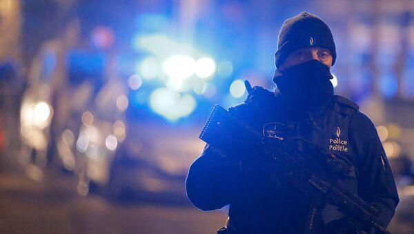 Un officier de police belge - Sputnik France