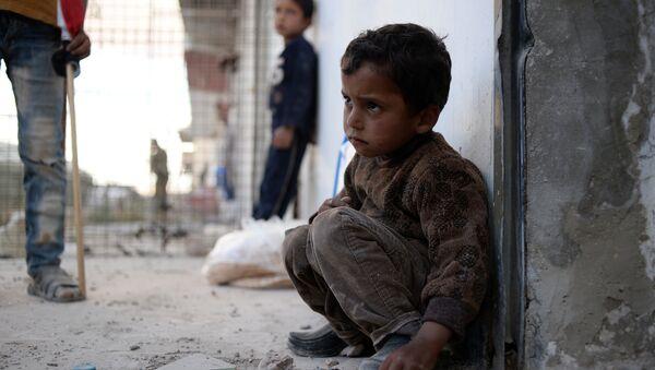Dans une région assiégée de la Syrie - Sputnik France