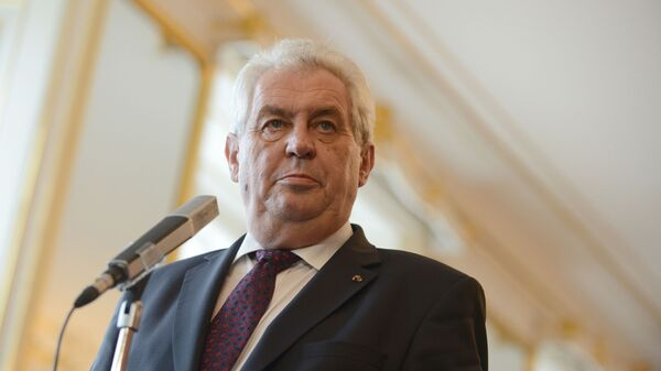 Milos Zeman - Sputnik France