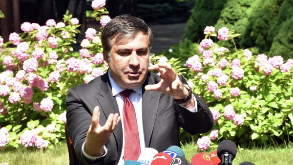 Пресс-конференция М.Саакашвили и посла США на Украине Джеффри Пайетта - Sputnik France