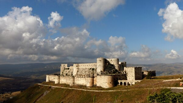 A general view shows the Crusader castle of Crac des Chevaliers, in Homs province, Syria May 24, 2016 - Sputnik France