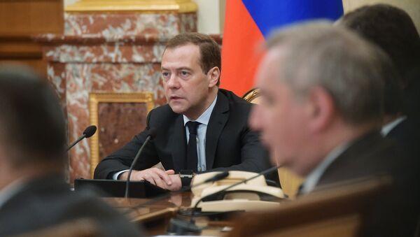 Премьер-министр РФ Д. Медведев провел заседание правительства РФ - Sputnik France