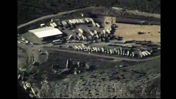 Destruction de camions acheminant du pétrole vers la Turquie - Sputnik France