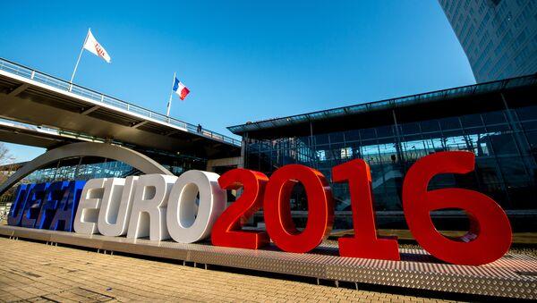 Lettres géantes Euro 2016 à Lille - Sputnik France