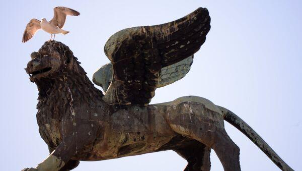 Le lion de Saint-Marc, symbole de Venise - Sputnik France