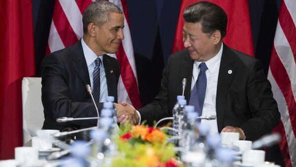 Barack Obama et Xi Jinping - Sputnik France