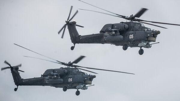 La Défense russe dresse le bilan de l'utilisation d'hélicoptères en Syrie - Sputnik France