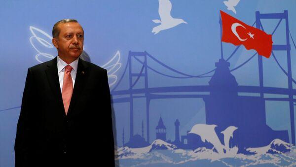 Turkisсher Präsident Recep Tayyip Erdogan - Sputnik France
