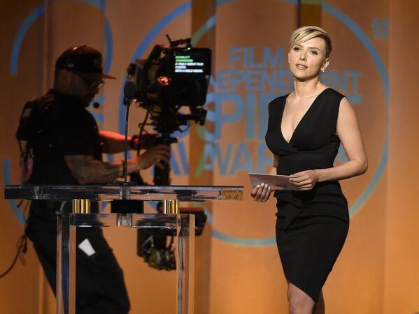 L'actrice américaine Scarlett Johansson. - Sputnik France