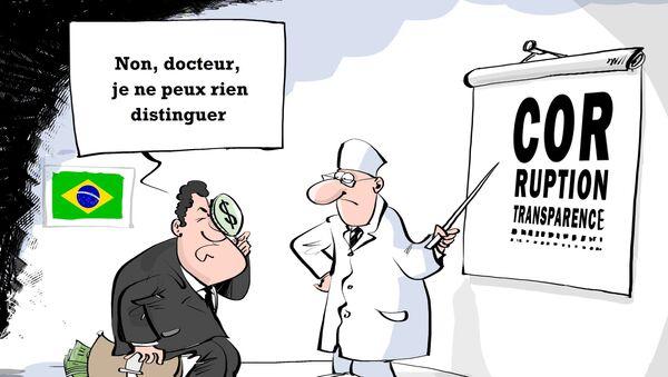 Brésil: nouvelle démission d'un ministre dans l'affaire Petrobras - Sputnik France