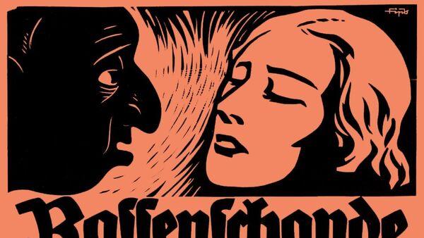 German Historical Museum ( Berlin ). Poster of the Nazi paper Der Stürmer ( 1935 ). - Sputnik France