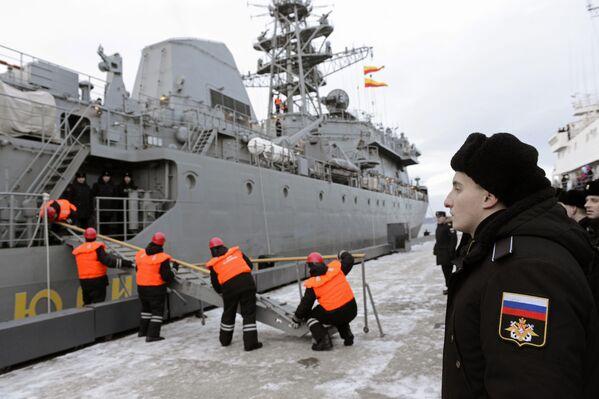 Le quotidien de la Flotte du Nord - Sputnik France