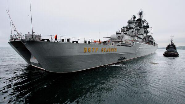 Le croiseur nucléaire lance-missiles Pierre le Grand (Petr Veliki) - Sputnik France