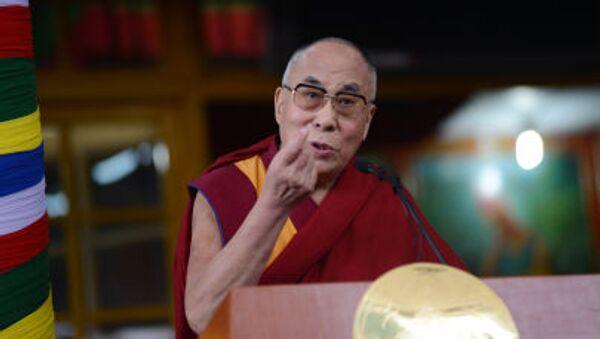 Le chef spirituel des Tibétains dalaï-lama - Sputnik France