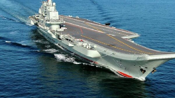 Китайский авианосец Ляонин CV-16 - Sputnik France
