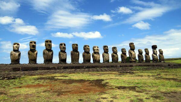Les statues de l'île de Pâques menacées par le réchauffement - Sputnik France