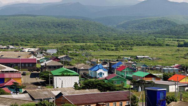 Поселок Курильск на острове Итуруп - Sputnik France
