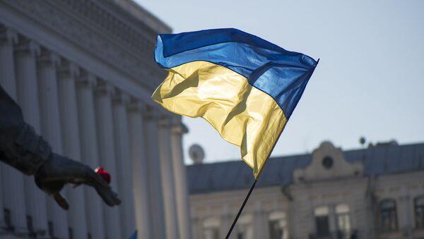 Drapeau ukrainien à Kiev - Sputnik France