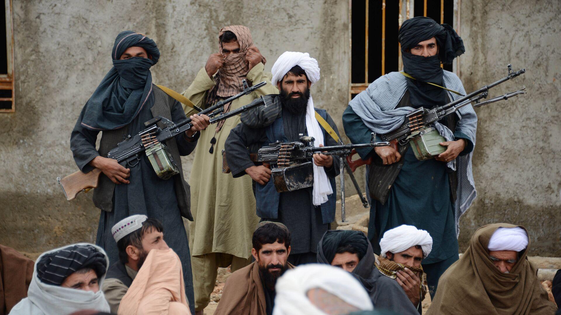 Des talibans* en Afghanistan - Sputnik France, 1920, 17.09.2021