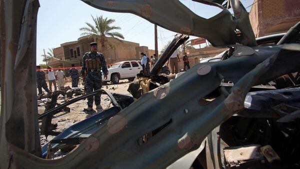 L'explosion d'un véhicule piégé en Irak - Sputnik France