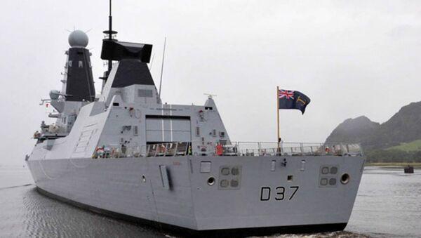 Destroyer HMS Duncan - Sputnik France