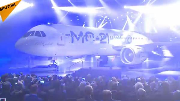 Le nouvel avion de ligne MS-21 présenté en Russie - Sputnik France