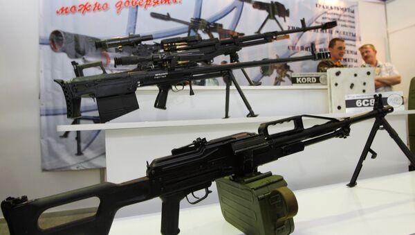 mitrailleuse pour les forces spéciales russes - Sputnik France