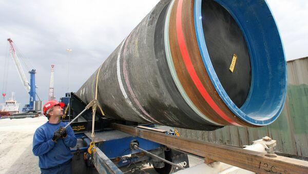 La construction du gazoduc Nord Stream - Sputnik France