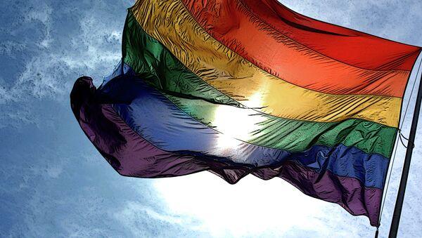 Gay pride flag - Sputnik France