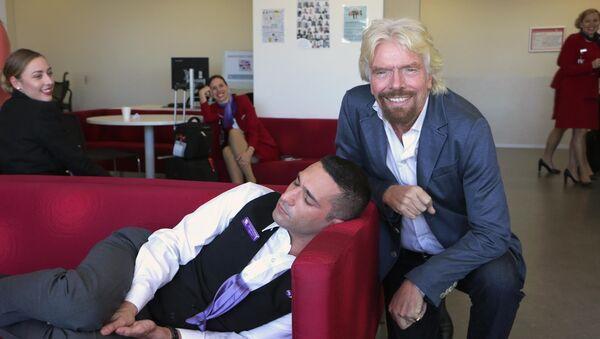 Richard Branson en Australie - Sputnik France
