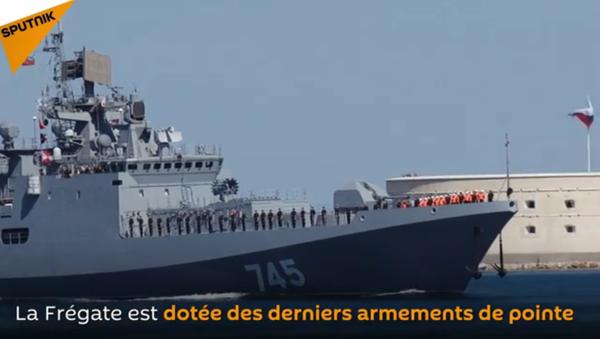 La frégate de la nouvelle classe Admiral Grigorovich arrive à Sébastopol - Sputnik France