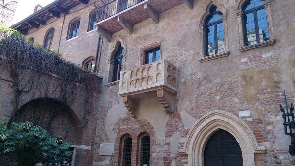 Le balcon de Juliette à Vérone - Sputnik France