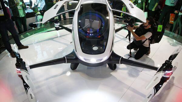 Le drone Ehang 184 - Sputnik France