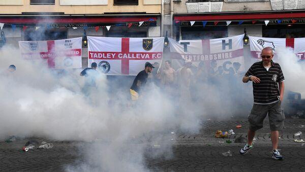 Bagarres lors de l'Euro 2016 à Marseille  - Sputnik France