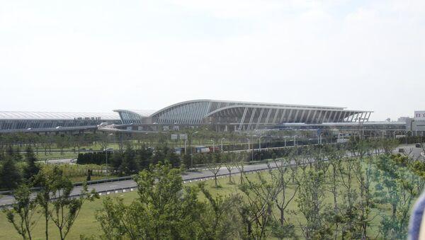 Pudong International Airport - Sputnik France