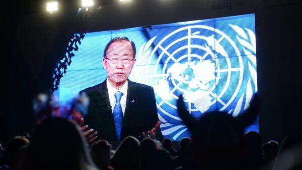 Le secrétaire général des Nations unies Ban Ki-moon - Sputnik France