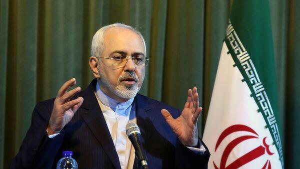 Mohammad Javad Zarif, ministre iranien des Affaires étrangères - Sputnik France