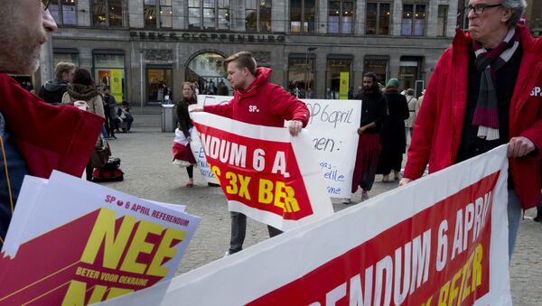 Les manifestants appellent à un vote «NON» - Sputnik France