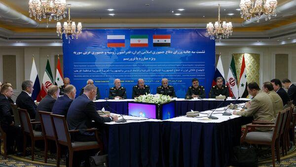 La Russie, la Syrie et l'Iran poursuivront la lutte conjointe contre le terrorisme - Sputnik France
